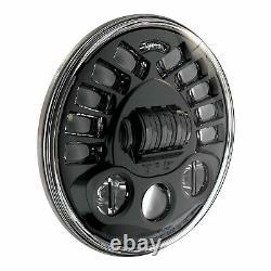 JW SPEAKER 0553421 LED Headlight 7 HARLEY ELECTRA GLIDE ROAD KING STREET FLHT