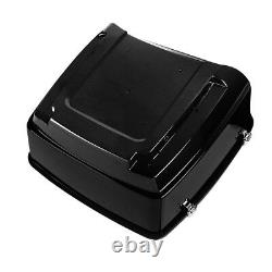 King Pack Trunk Pad + Mount Rack Fit For Harley Tour Pak Road Street Glide 14-21