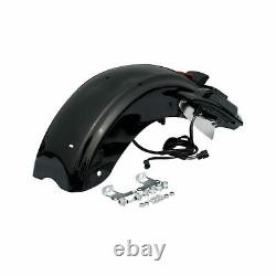 LED Rear Fender System For Harley Touring Road King Street Glide 14-20 CVO Style