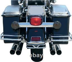 La Choppers Chrome 224 Mufflers Harley Electra Glide Ultra Road King Street