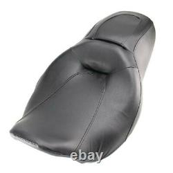 Low Profile Driver Passenger 2-Up Seat For Harley Road King Street Glide 2008-UP