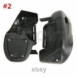 Lower Vented Leg Fairing For Harley Touring Road King Street Electra Glide 89-13
