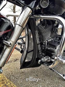Mutazu Custom Unpainted Chin Spoiler Scoop For Harley Road King Street Glide