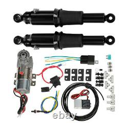 Rear Air Ride Suspension Fit For Harley Touring Street Road King Glide 1994-2021