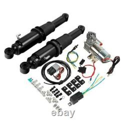 Rear Air Ride Suspension Kit Fit For Harley Road King Street Glide 1994-2021 18