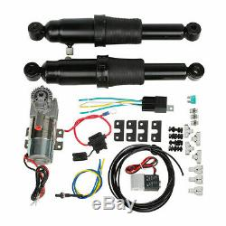 Rear Air Ride Suspension Set For Harley Touring Electra Street Glide Road King