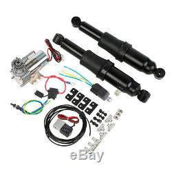 Rear Air Ride Suspension Set For Harley Touring Road King Street Glide 94-19 188