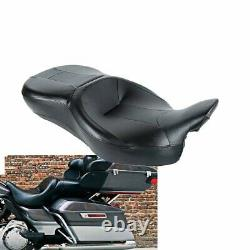 Rider and Passenger Seat Fit Harley Touring Street Electra Glide Road King 14-18