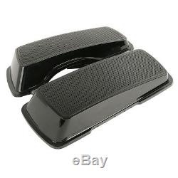 Saddlebags Lids with Dual Speakers For Harley Electra Street Road King Glide 94-13