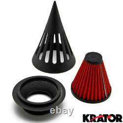 Spike Air Cleaner Intake Filter For Harley Road King Street Road Electra Glide