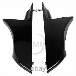 Stretched Extended Saddlebag Side Covers For Harley Street Glide Road King FLTR