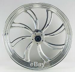 TWISTED VORTEX FRONT WHEEL 21 x 3.5 HARLEY ELECTRA GLIDE ROAD KING STREET 00-07
