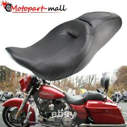 Two Up Rider Driver Passenger Seat For Harley Street Glide Road King 2008-2020
