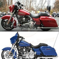 Two Up Seat Rider & Driver Passenger For Harley Street Glide Road King 2008-2019