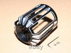 USA Aluminum Oil Filter Cover Cap Trim For Harley Touring Road Street Glide King