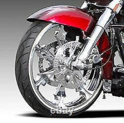 Vee Rubber 21 White Wall Front Tire 120/70-21 Harley Road King Street Glide
