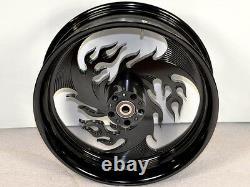 Xtreme Machine ARSON Black 18x5.5 Rear Wheel Rim Street Glide Road King FLHX