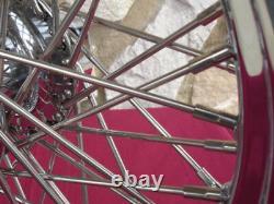 18x3.5 Kcint 60 Spoke Roue Avant 00-07 Harley Road Street Glide Ultra Roi