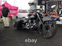 21 Pouces Bladerunner Motorcycle Wheels Harley Road Street King Glide Touring Fxr