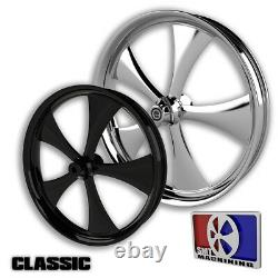 21 Pouces Classic Motorcycle Wheel Harley Bagger Road Street King Glide