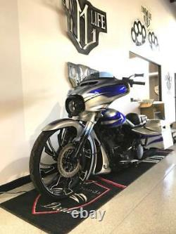 21 Pouces Guinzu Moto Roue Harley Road King Street Glide Road Glide Fxr