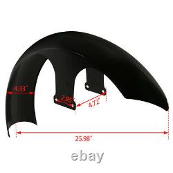 21 Wrap Garde-boue Avant Pour Harley Touring Electra Road Street Glide Roi Baggers