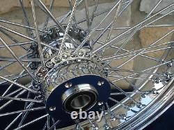 21x3.5 60 Spoke Roue Avant Harley Ultra Road King Street Glide Touring 00-07