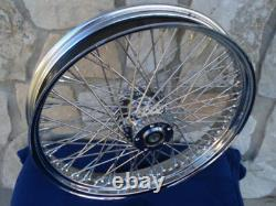 21x3.5 80 Spoke 08-up Abs Roue Avant Pour Harley Street Road King Glide Touring