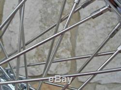 21x3.5 Kcint 60 Spoke Roue Avant 08 Et Jusqu'à Harley Bagger Road King Street Glide