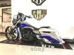 21x5.5 Inch Guinzu Fat Tire Roue De Moto Pour Harley Road Street Glide King