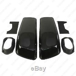 6x9 Président Couvercles Pour Harley 2014-2020 Saddlebags Road Street Glide Roi