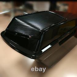 6x9 Saddlebag Speaker Lids For Harley Street Road Glide Road King Ultra 1993-13