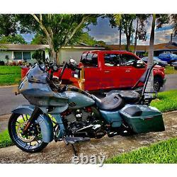 Backrest Sissy Bar Fit Pour Harley Cvo Road Glide Street Touring Road King 09-up