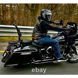 Backrest Sissy Bar Pour Harley Davidson Cvo Road Glide Street Touring Road King