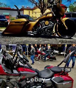 Backrest Sissy Bar Pour Harley Touring Road Street Electra Glide Road King Black