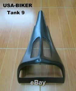 Bagger Chin Spoiler Sur Mesure Pour Harley Touring Route King Street Electra Glide