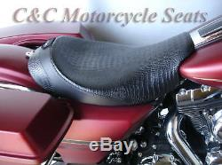 Bagger Solo Withbackrest, Street Glide, Road King Ultra Glide Road, C & C Sur Mesure Siège
