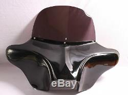 Batwing Peint Carénage Pare-brise 4 Harley Touring Route King Street Electra