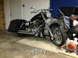 Chin Spoiler Bagger Custom 4 Harley Touring Road Road Street Glide Electra 09-13