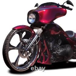 Chin Spoiler Harley Touring Bagger Street Road King Glide Flhx Fltr Flhr Cvo