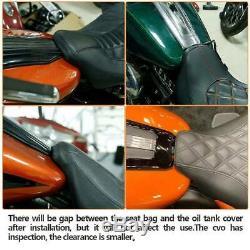 Conducteur Siège Passager Pour Harley Cvo Road King Street Glide Spéciale 2009-2020 19