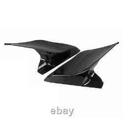 Couvertures Latérales Extensibles De Sac À Main Étirées Pour Harley Street Glide Road King Fltr