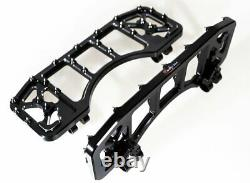 Cross Country Front Driver Floorboards Pour Harley Street Glide Road King Flhx Fl