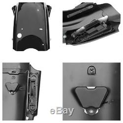 Cvo Système Garde-boue Arrière Pour Harley Road King Touring Electra Street Glide 2009-13