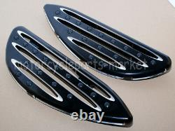 Driver Cnc Cut Stretched Floorboards For Harley Touring Road King Street Glide