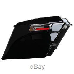 Extended Dur Selle Étirées Sacs Pour 1993-1913 Harley Street Glide Road King
