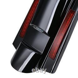 Fender Arrière Fascia Lumière Led Pour Harley Touring Road Roi Flhr Street Glide Flhx