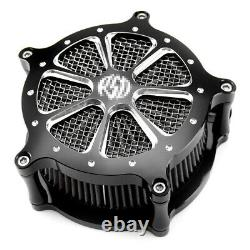 Filtre D'admission Air Cleaner Pour Harley Dyna Touring Electra Street Glide Road King