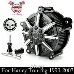 Filtre D'admission Nettoyeur D'air Pour Harley Road King Street Electra Glide Dyna Flstn
