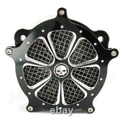 Filtre D'admission Nettoyeur D'air Pour Harley Touring Street Road Glide Road King 08-2016